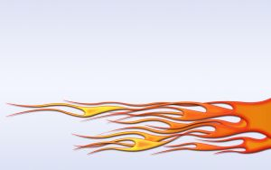 Flames - hot rod weave wide by jbensch