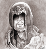 Older Ezio: AC Revelations by ThePuddingMonster