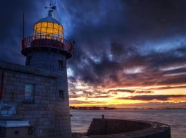 Howth lighthouse 2 by superflyninja