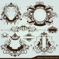 Abstract vector elements 2 by Owl666PS
