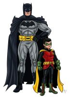 -The New 52 Batman and Robin- by Kaufee