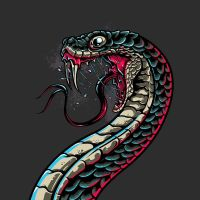 Viper Frenzy T Shirt by Design-By-Humans