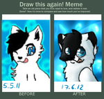 Improvement meme by MissLayira