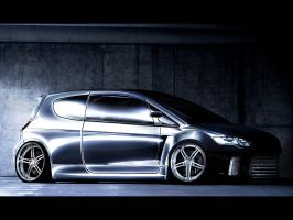 Mitsubishi Colt '09 PWRT by CptDesign