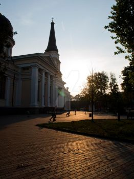 Odessa Cathedral by DeliriousRapture