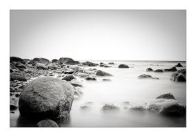 Stones, cold, sea by deftoettan