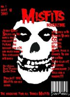 Misfits Magazine Cover Mock-UP by Crimson-Werecat