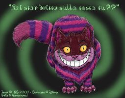 Cheshire cat by Anna-XIII