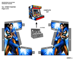 MINI ARCADE_STREET FIGHTER_Pg 2 of 3 by randyfivesix