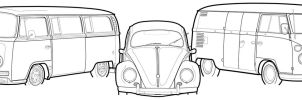 Bay, Oval, Splitty by Rigamortiz