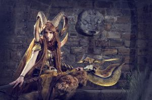 Faun Cosplay - Original Design by emilyrosa