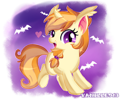 Filly Pumpkin Patch by vanille913