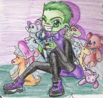 beastboy by narcissusblossom