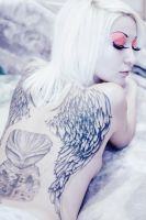 angels tatoo by LiliaVeber