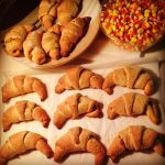 Pumpkin Pie Croissants by Deathbypuddle