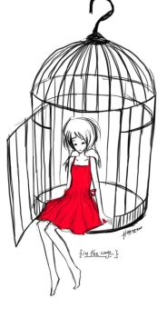 in the cage by haruzan