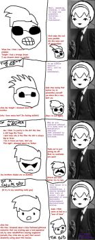 Homestuck - Dave and the... Therapist by Linktroll