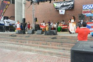 Puerto Rican/Latin Festival, Dancing To Bongos 12 by Miss-Tbones