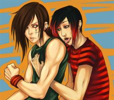 Collab - Alex and Mark XD by Xiaoyu85ve