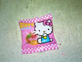 Little Pouch of Hello Kitty Gummies by LadyIlona1984