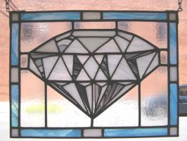 Diamond Stained Glass by AutobotWonko