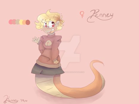 Penney Ref by Edgypineapple