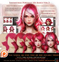 Portrait 101 vol2 voice over tutorial pack .promo. by sakimichan