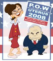 Palin and McCain Comedy Duo by kevinbolk