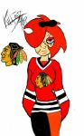 Chicago  Blackhawks  Goon Noire by KillJoy17James