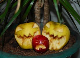 Cannibal Apples Contest by SweetDisorder
