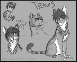 Sketch Dump- Travis by AeroSocks