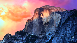 OS X Yosemite Dark Wallpaper by vndesign