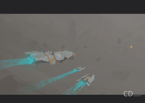Homeworld2 fan painting by ConnorDiver