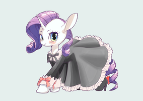 Rarity in a dress by conbudou