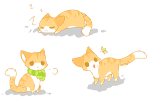 .:Fat Cat Doodles:. by WlSHES