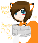 Happy BirthDay FoxxyFoxxy by AwesomeSachiko1