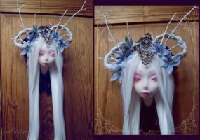Fairy Taxidermy III  - Camassia by tanuki-chan