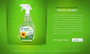 Green Works advertisement by cyrax-pdm