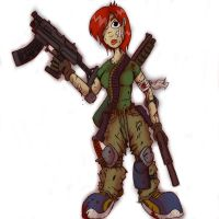 Commando Lady by djneckspasm