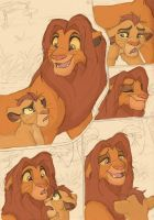 Simba and Kion.:Talk.: by Xx-JungleBeatz-xX