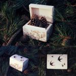 Swallow Flying Jewellery Box by CosmosCrafts