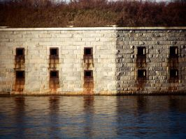 Fort Gorges by trueflight