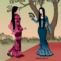 Geishas by bluebelle-88
