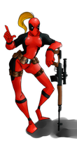 lady Deadpool by immeria