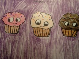 cupcakes :D by MewMewMinto1123
