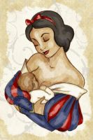 Motherhood - Snow White's Child by Fulvio84