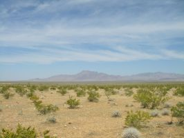Nevada Desert Mountains by archambers