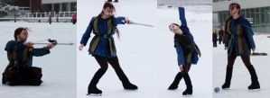 The Hobbit on Ice by Anae-chan