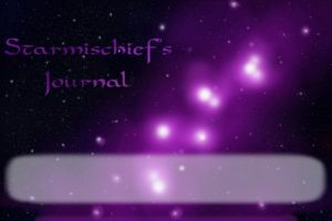 Starmischief's Journal Skin by JeffrettaLyn
