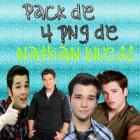Pack PNG de Nathan Kress by Monse-Editions